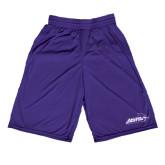 Performance Classic Purple 9 Inch Short-Primary Logo