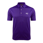 Purple Dry Mesh Polo-Angled ACU w/Wildcat Head