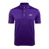 Purple Dry Mesh Polo-ACU Wildcats