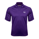 Purple Textured Saddle Shoulder Polo-Angled ACU w/Wildcat Head