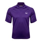 Purple Textured Saddle Shoulder Polo-Angled ACU w/Wildcat Head