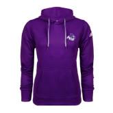 Adidas Climawarm Purple Team Issue Hoodie-Angled ACU w/Wildcat Head