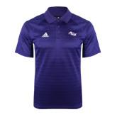 ACU Wildcat Adidas Climalite Purple Jaquard Select Polo-Angled ACU