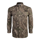 Camo Long Sleeve Performance Fishing Shirt-ACU