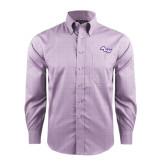 Red House Purple Plaid Long Sleeve Shirt-Angled ACU