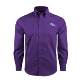 Red House Purple Long Sleeve Shirt-Angled ACU