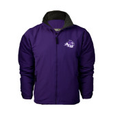 Purple Survivor Jacket-Angled ACU w/Wildcat Head