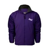 Purple Survivor Jacket-Angled ACU