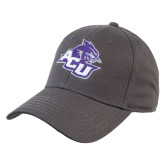 ACU Wildcat Charcoal Heavyweight Twill Pro Style Hat-Angled ACU w/Wildcat Head