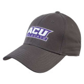 ACU Wildcat Charcoal Heavyweight Twill Pro Style Hat-ACU Wildcats