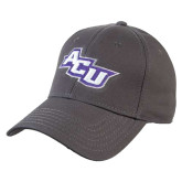 ACU Wildcat Charcoal Heavyweight Twill Pro Style Hat-Angled ACU
