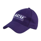 Purple Heavyweight Twill Pro Style Hat-ACU Wildcats
