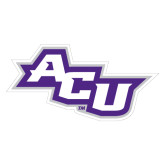 Abilene Christian Extra Large Magnet-Angled ACU, 18 inches wide