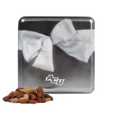 Deluxe Nut Medley Silver Medium Tin-Angled ACU Engraved