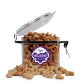 Cashew Indulgence Round Canister-Angled ACU