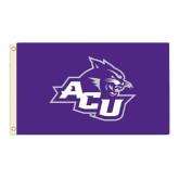 ACU Wildcat 3 ft x 5 ft Flag-Angled ACU w/Wildcat Head