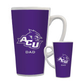 ACU Wildcat Full Color Latte Mug 17oz-Dad