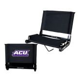 ACU Wildcat Stadium Chair Black-ACU Wildcats