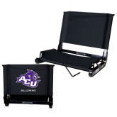 ACU Wildcat Stadium Chair Black-Alumni