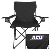 Deluxe Black Captains Chair-ACU