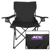 ACU Wildcat Deluxe Black Captains Chair-ACU Wildcats