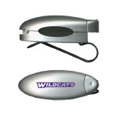 Silver Bullet Clip Sunglass Holder-Wildcats