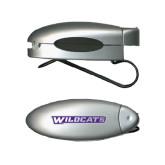ACU Wildcat Silver Bullet Clip Sunglass Holder-Wildcats
