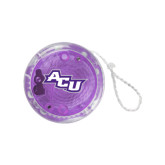 ACU Wildcat Light Up Purple YoYo-Angled ACU