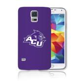 Galaxy S5 Phone Case-Angled ACU w/Wildcat Head