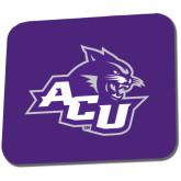 ACU Wildcat Full Color Mousepad-Angled ACU w/Wildcat Head