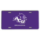 ACU Wildcat License Plate-Grandma