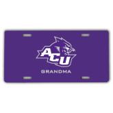 ACU Wildcat License Plate-Grandma