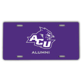 ACU Wildcat License Plate-Alumni