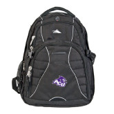 High Sierra Swerve Compu Backpack-Angled ACU w/Wildcat Head