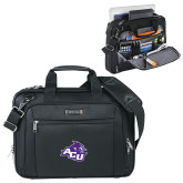 ACU Wildcat Kenneth Cole Black Vertical Checkpoint Friendly Messenger-Angled ACU w/Wildcat Head