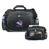 Hive Checkpoint Friendly Black Compu Case-Angled ACU w/Wildcat Head, Personalized