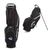 ACU Wildcat Callaway Hyper Lite 5 Black Stand Bag-Angled ACU w/Wildcat Head