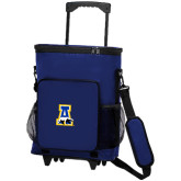 30 Can Blue Rolling Cooler Bag-A-bear