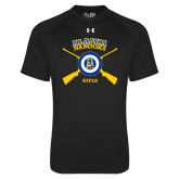 Under Armour Black Tech Tee-Alaska Nanooks Rifle