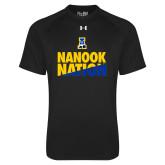 Under Armour Black Tech Tee-Nanook Nation