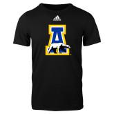 Adidas Black Logo T Shirt-A-bear