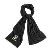 Black Eco Jersey Bundle Up Scarf-A-bear