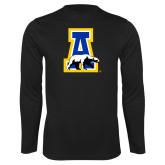 Performance Black Longsleeve Shirt-A-bear
