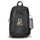 Impulse Black Backpack-A-bear