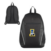 Atlas Black Computer Backpack-A-bear