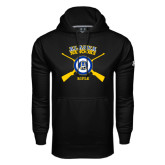 Under Armour Black Performance Sweats Team Hoodie-Alaska Nanooks Rifle