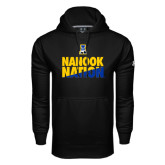 Under Armour Black Performance Sweats Team Hoodie-Nanook Nation