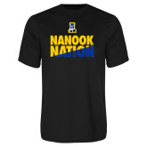 Syntrel Performance Black Tee-Nanook Nation