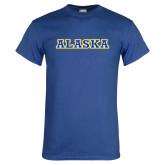 Royal T Shirt-Alaska Word Mark