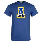 Royal T Shirt-A-bear Distressed